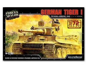 TIGER I GERMAN TUNESIA 1943