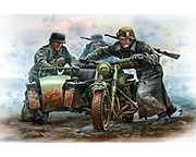 German Motorcyclists WWII