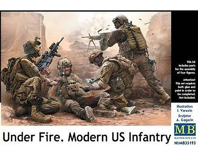 Under Fire.Modern US Infantry