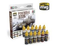 PANTHER-G COLORS SET INTERIOR AND EXTERIOR