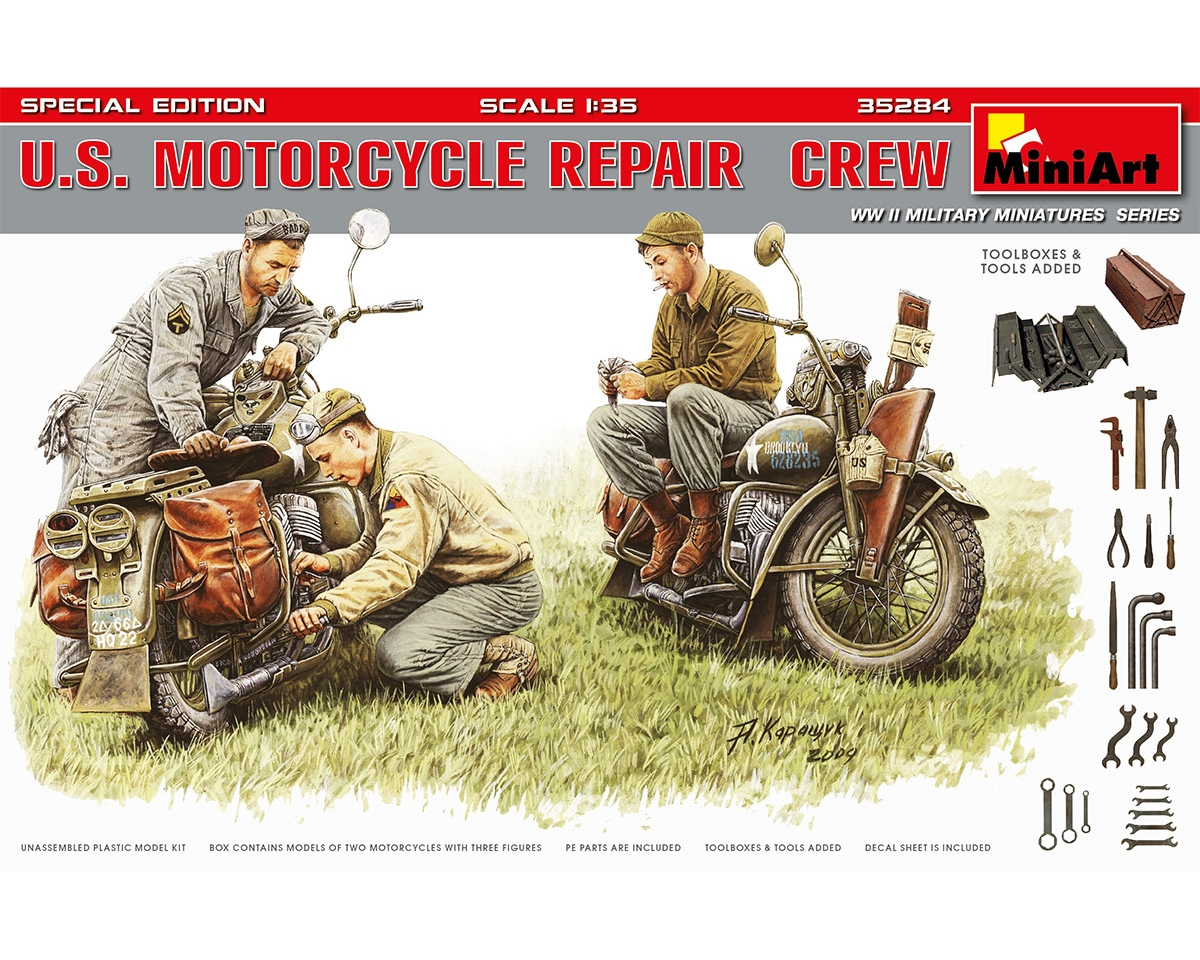 U.S. MOTORCYCLE REPAIR  CREW. S.E.