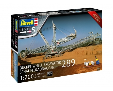 Bucket Wheel Excavator 289 Limited Edition 1:200